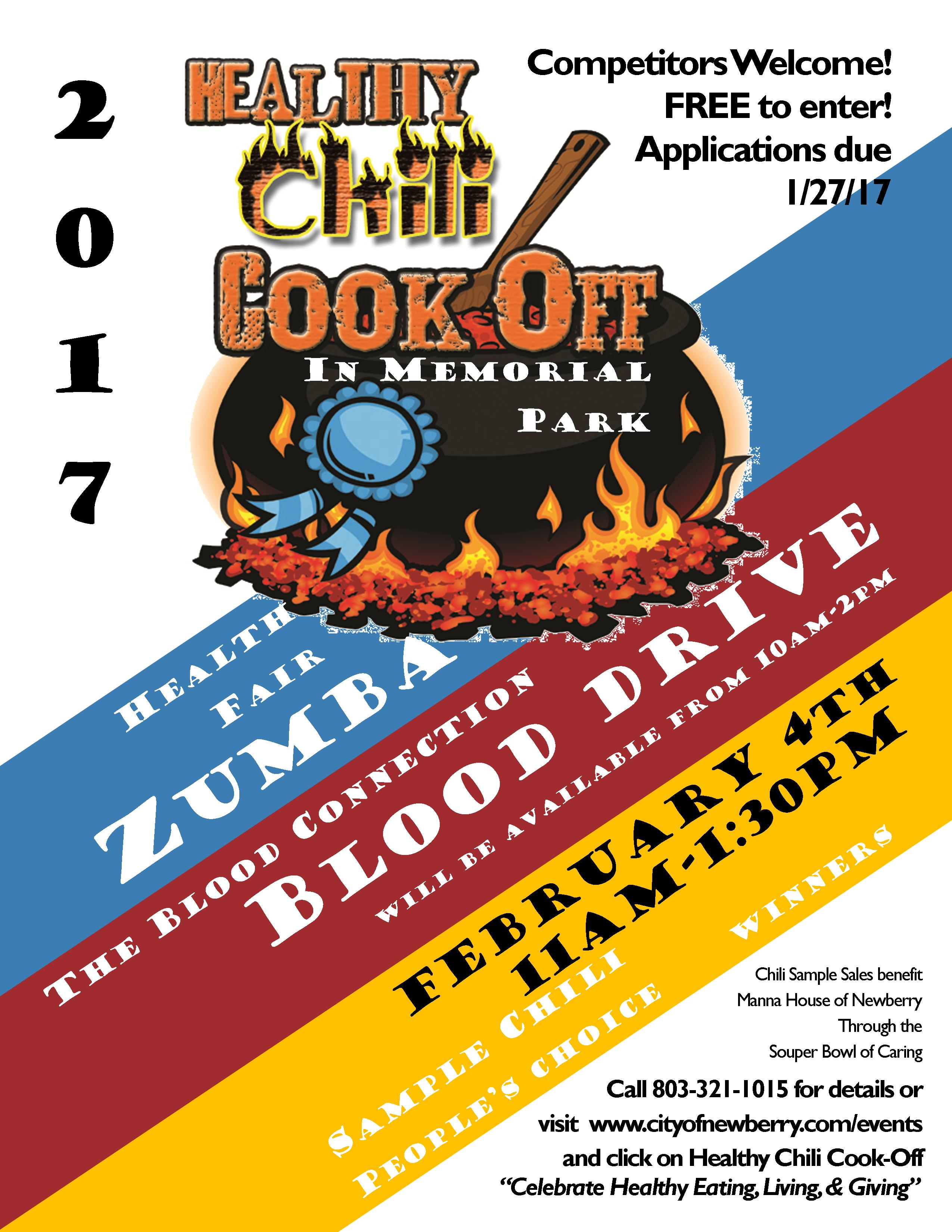 Healthy chili cook off if youd like details about our rules and regulations please follow this link healthy chili cook off rules and regulations xflitez Choice Image